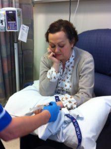Receiving TDM-1, Jane's final treatment
