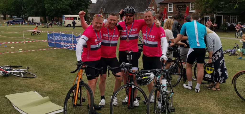 4 Men, 4 Bikes, 48 hours at the Wallingford Festival of Cycling