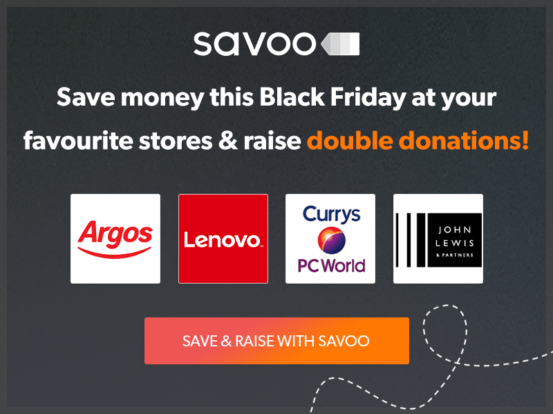 Savoo Black Friday charity offer