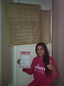 Five Wow Supporters - Amanjit after completing her challenge