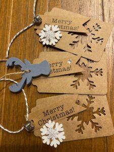 Kym's Christmas gift tags
