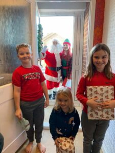 Five Wow Supporters - the Dafferns' Christmas fundraising