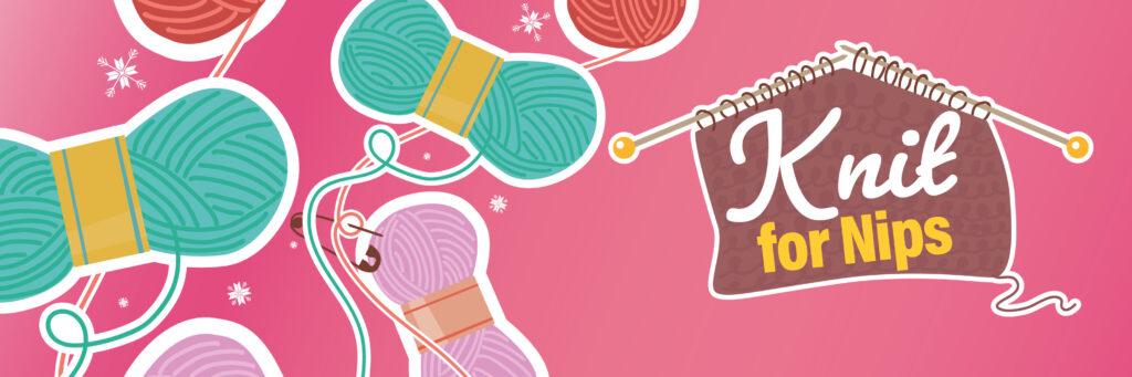 Knit for Nips banner