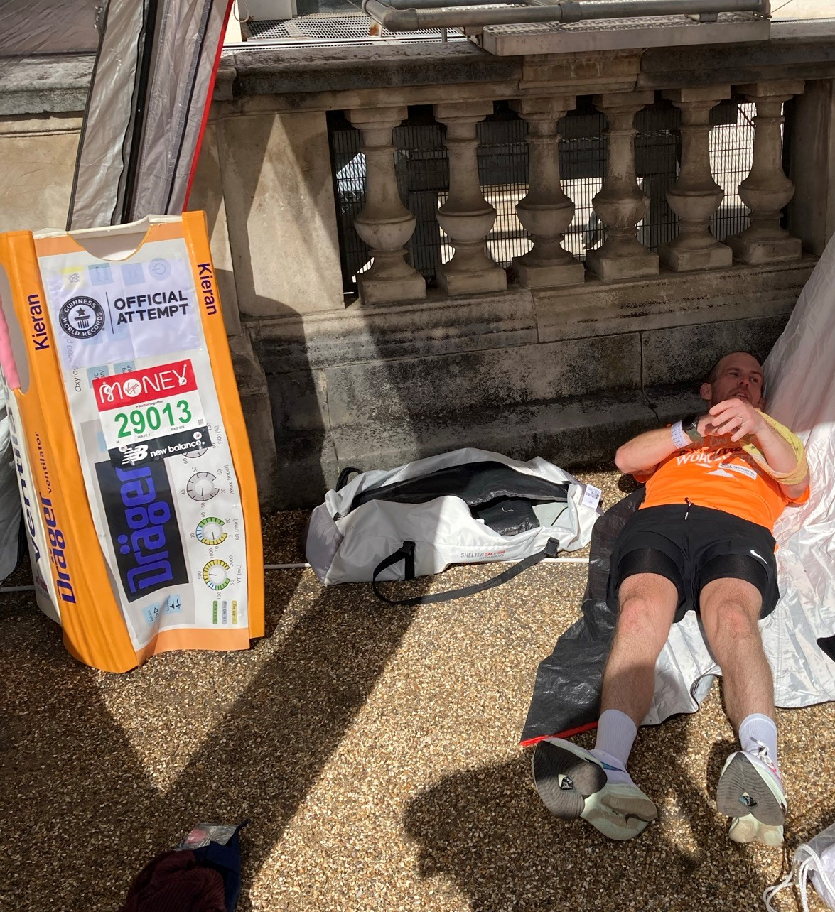 london marathon world record attempt